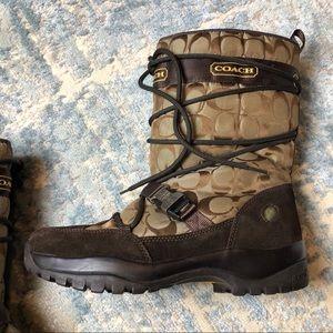 Coach Shoes - Authentic Coach Winter Boots Size 9